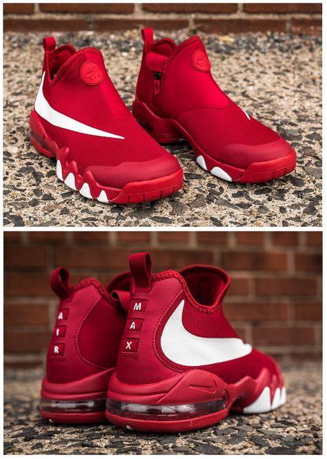 sale retailer 8c966 dee50 Nike Big Swoosh Charles Barkley  University Red