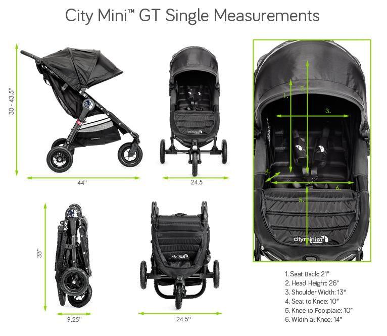 14+ Baby jogger city mini gt double info