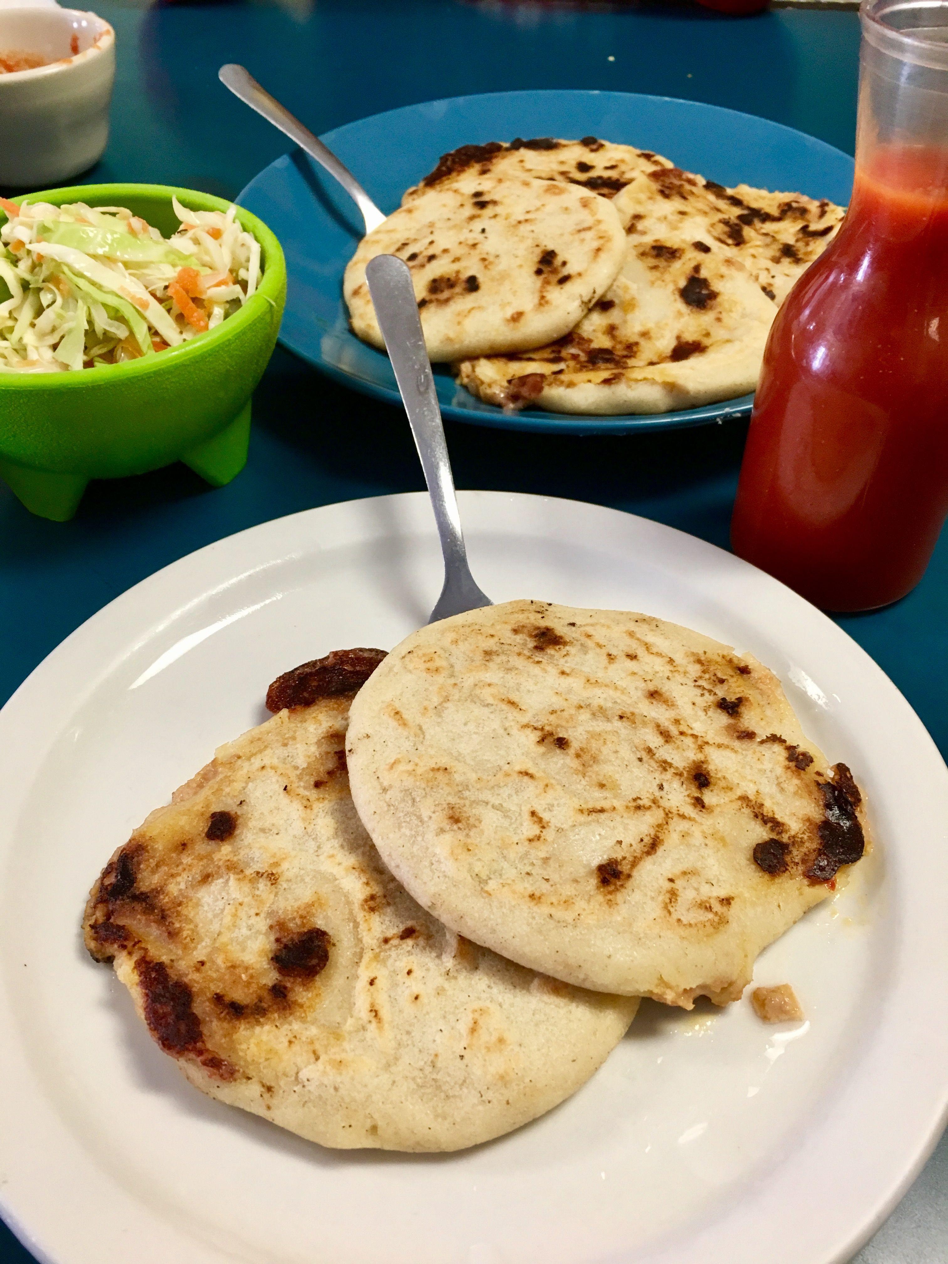 Salvadoran Pupusas con Curtido   Recipe   Food recipes ...Salvadoran Pupusas Con Curtido