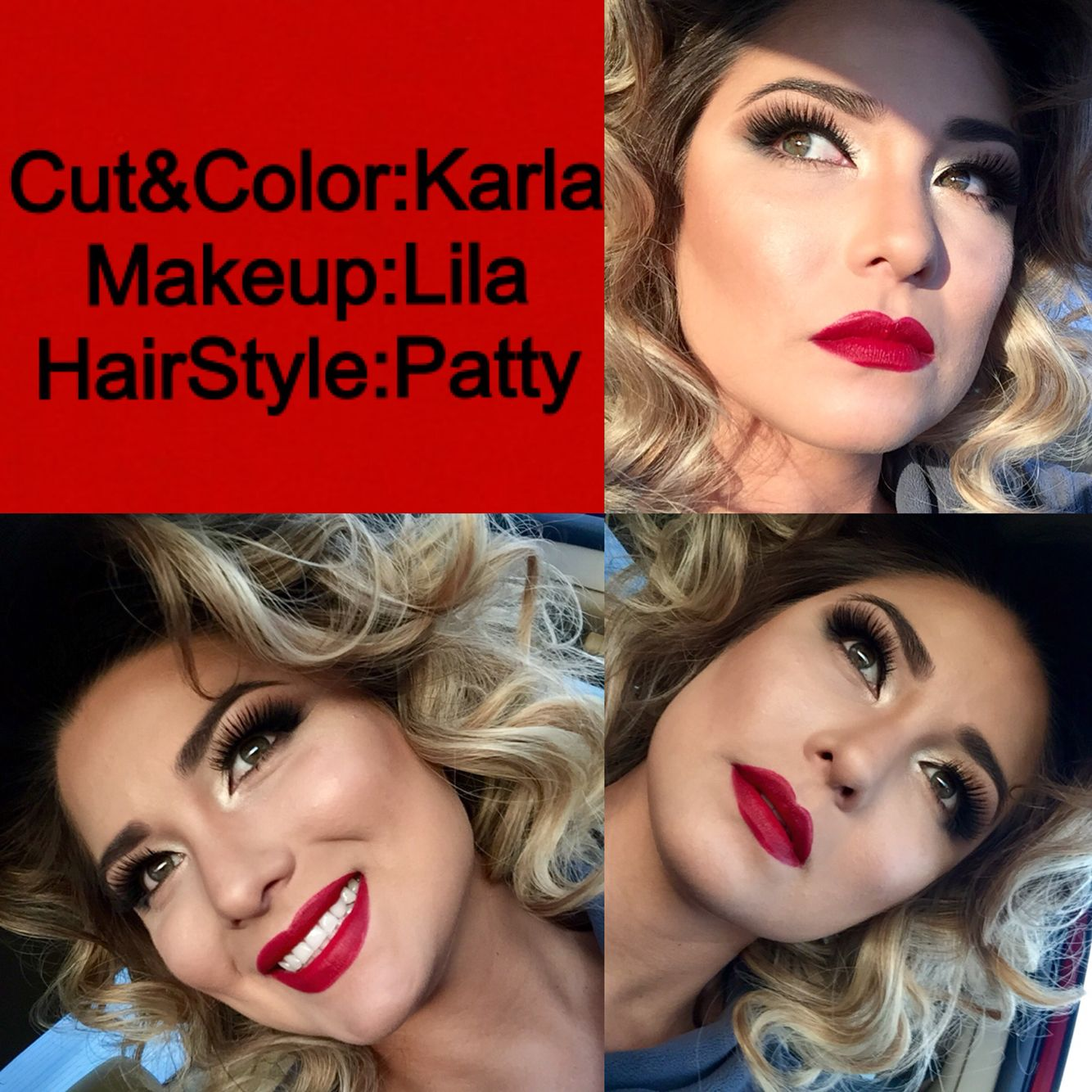 Marilyn Monroe inspired look by The Hair Studio by KC team