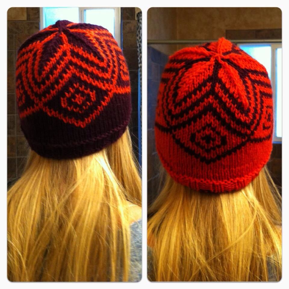 Double knitted hat. Hardest project so far. | Knitting ...