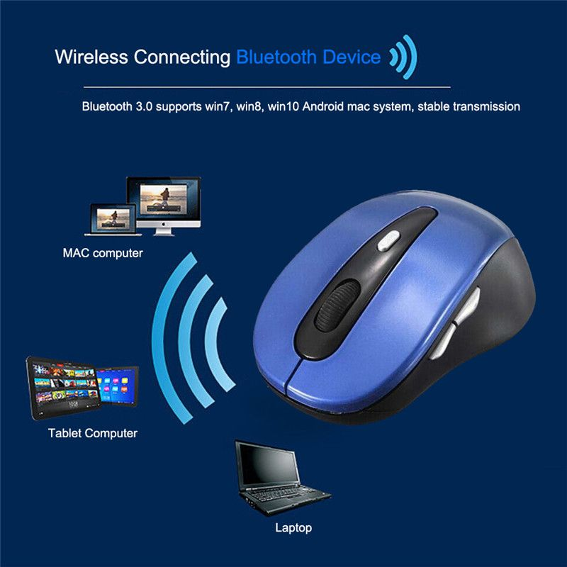 3 Colors Slim Bluetooth 3 0 Wireless Mouse for win7/win8/10