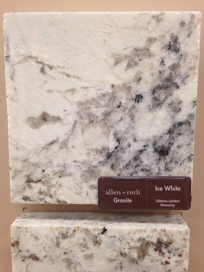 Allen And Roth Quot Ice White Quot Granite Love It