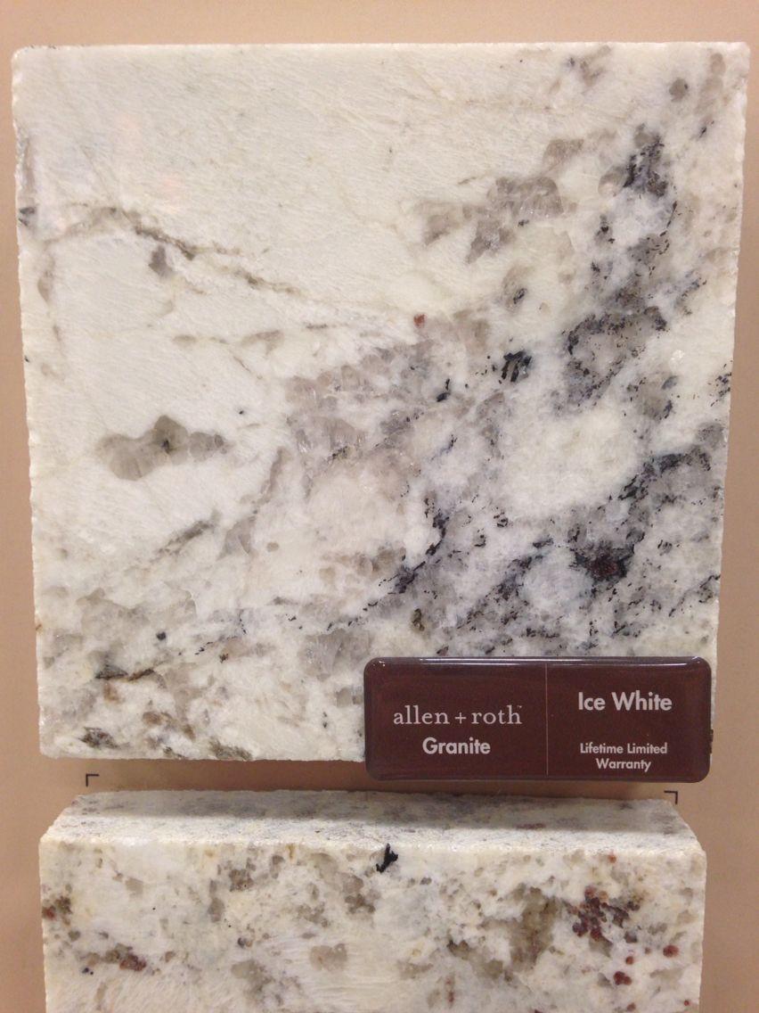 Allen And Roth Ice White Granite Love It Kitchen Ideas In
