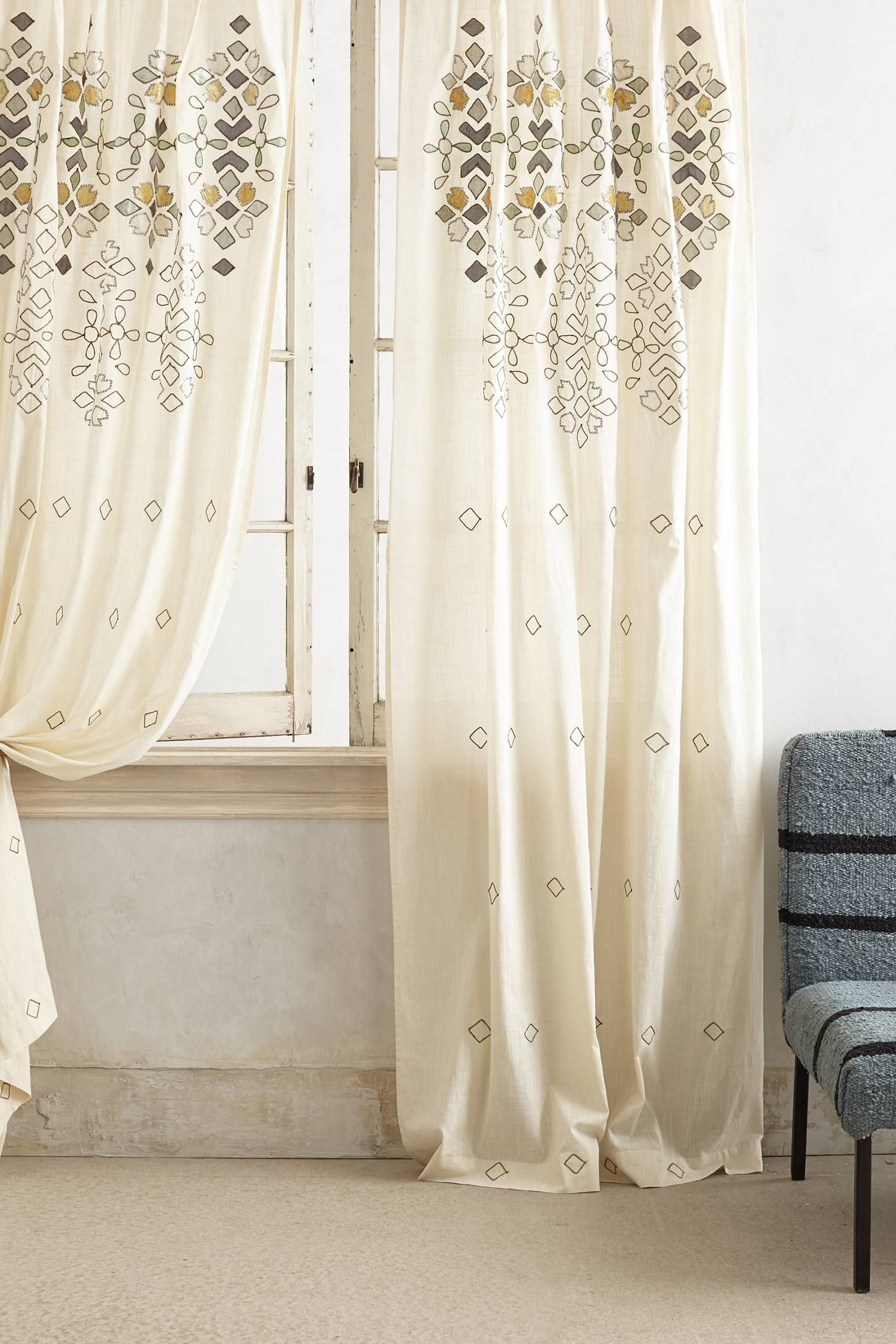 Coral curtains for sale - Sequined Curtain