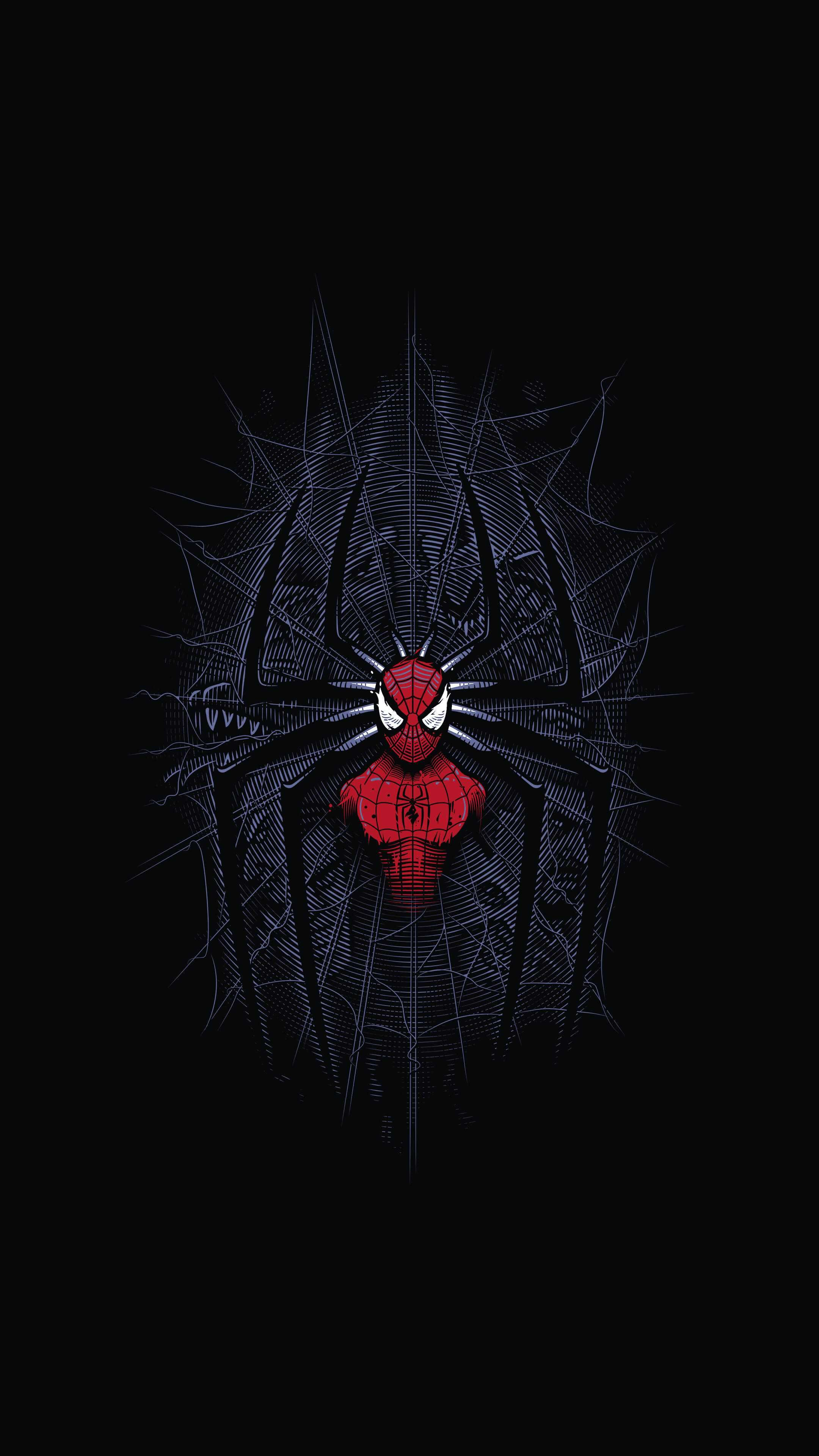 Spider man web iPhone Wallpaper (con imágenes) Fondo de