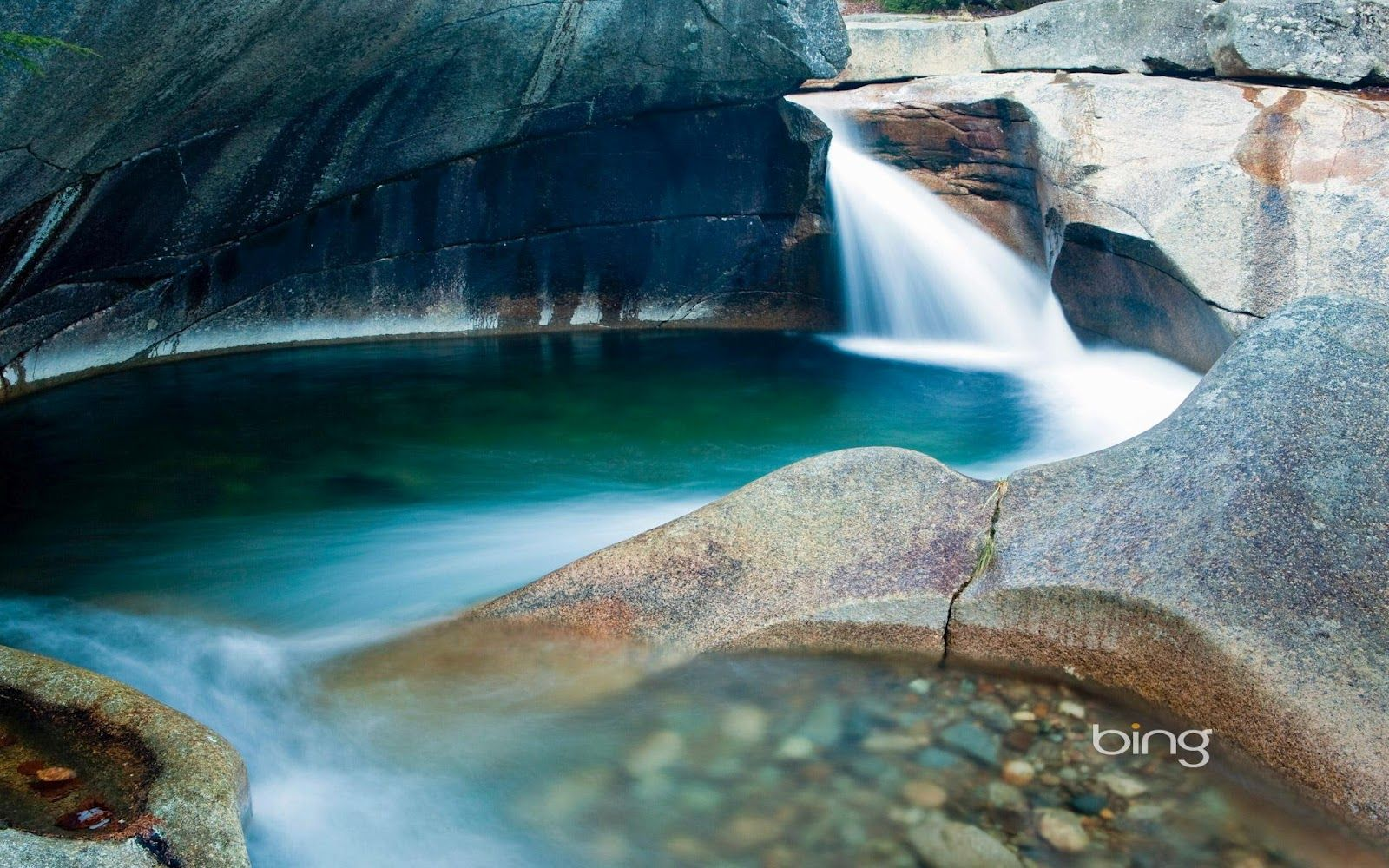 The Basin in Franconia Notch State Park, New Hampshire © Danita Delimont/Getty Images