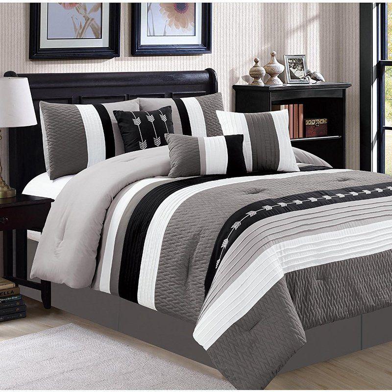 Zybert 7 Piece Comforter Set Comforter sets, Luxury