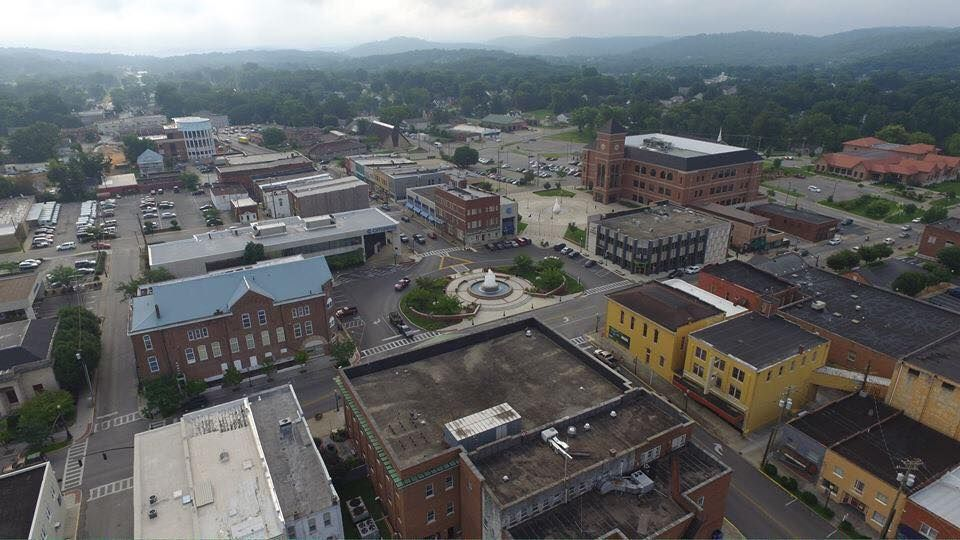 Ariel View Somerset Kentucky July 2015 Appalachia My Old Kentucky Home Places