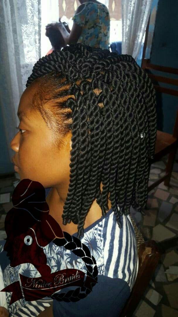 Crochet Twist With Brazilian Wool Brazilian Wool Hairstyles Hair Styles Twist Hairstyles