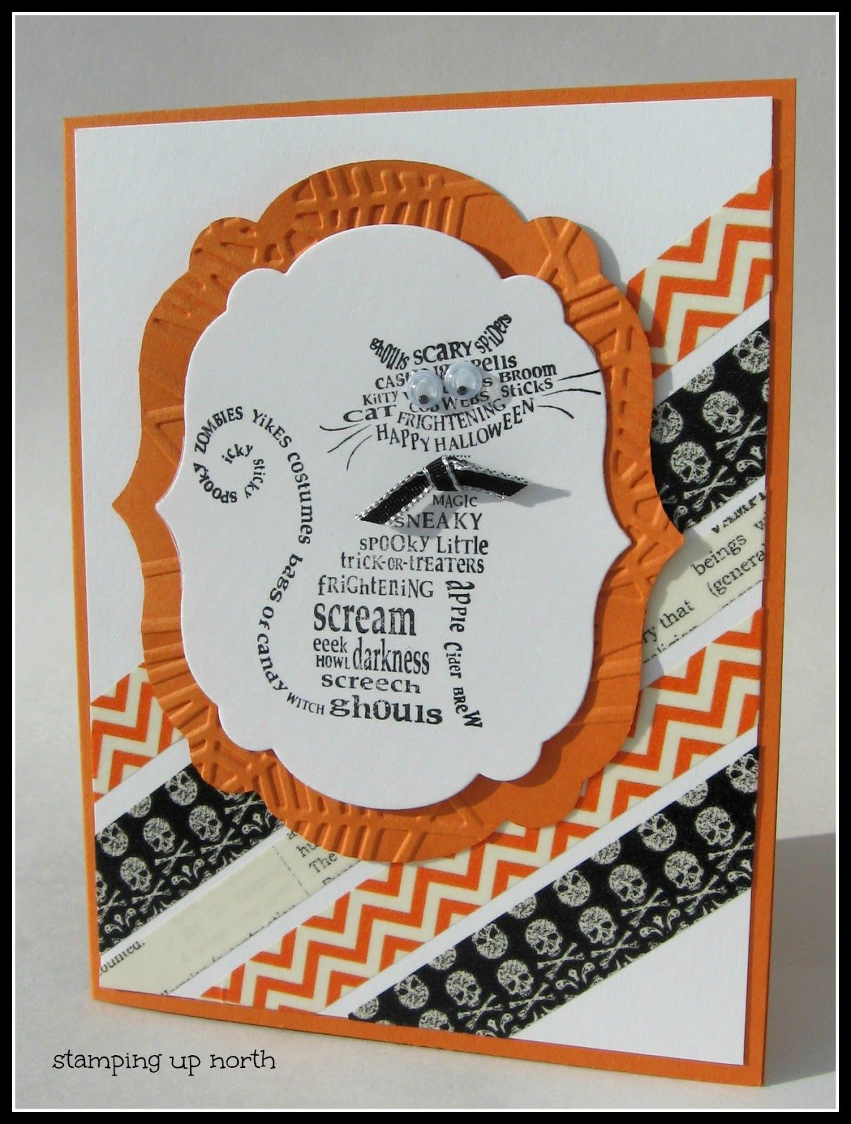 stampin up halloween cards google search - Handmade Halloween Cards Pinterest