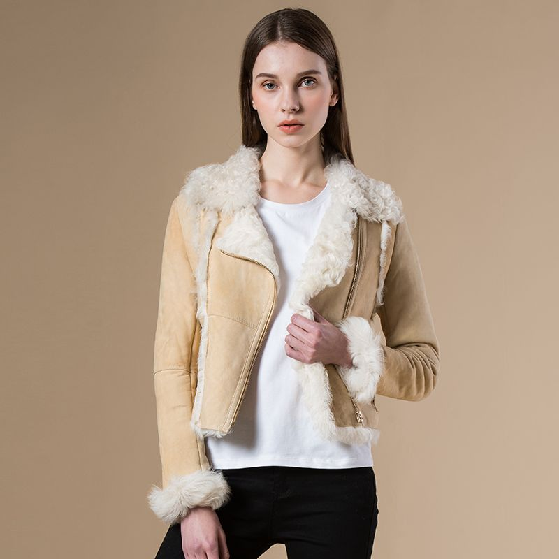 Cheap real fur coat, Buy Quality lamb fur jacket directly from ...