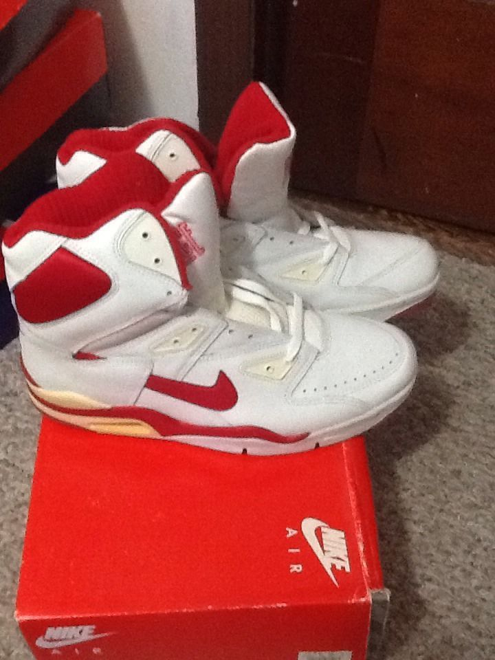 1991 Nike Air Force Hi Deadstock Rare OG Bulls | High Top
