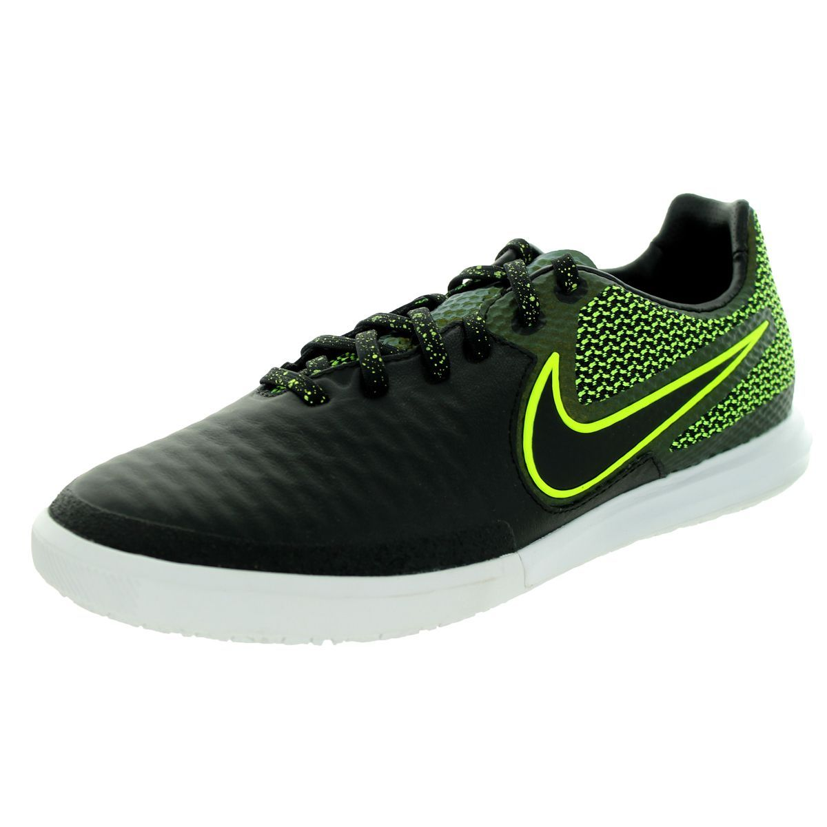 9255919ccc94 Nike Men s Magistax Final Ic   Volt White Indoor Soccer Shoe