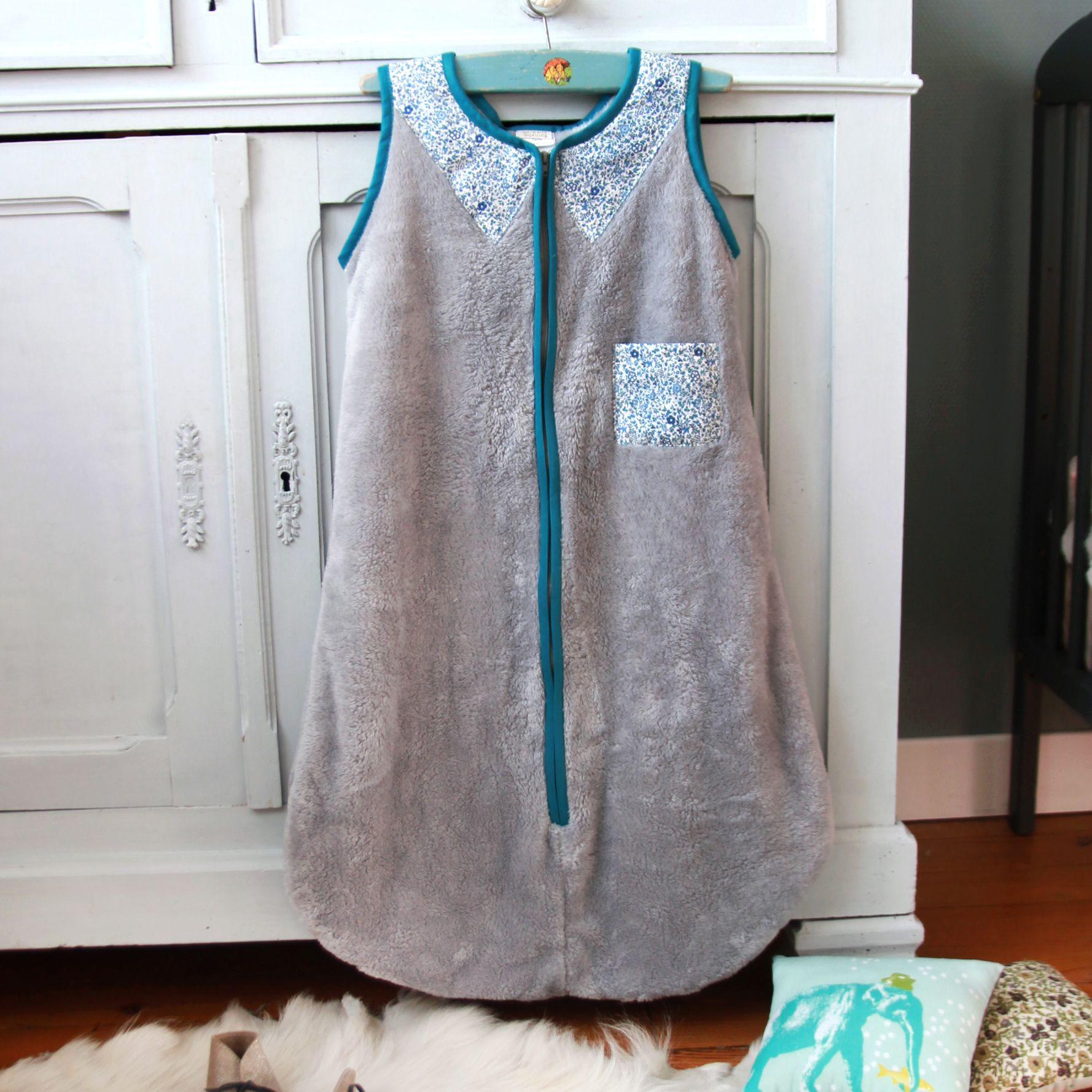 Barnabe aime le café Liberty Print Sleeping Bag – GabrielThe Baby Sleep Shop