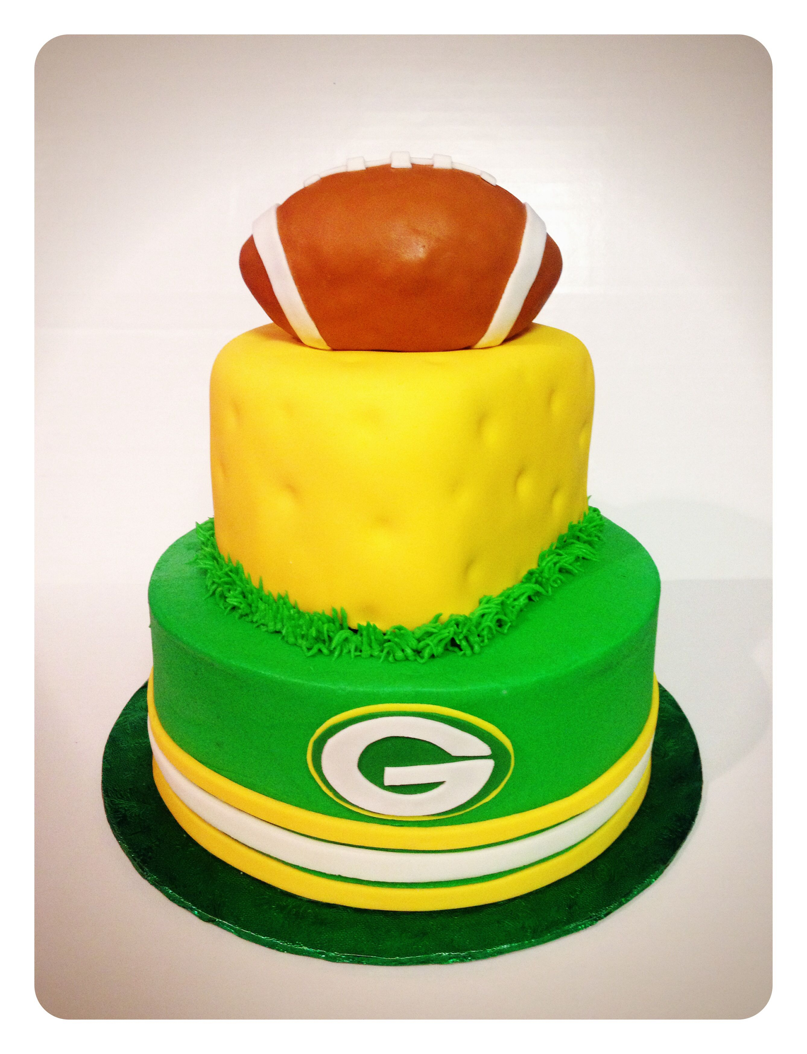 I would love this cake for my bday | Green Bay Packers | Pinterest ...