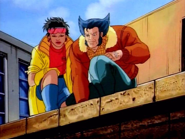 Jubilee And Logan X Men Wolverine Animation