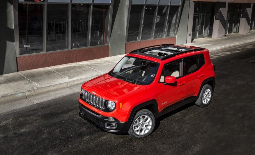 2015 Jeep Renegade Trailhawk And Latitude Models Pictures Jeep