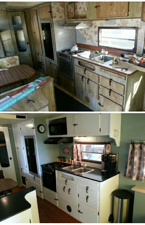 My Own Camper Before And After Housey Pinterest