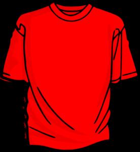 Red T Shirt Clip Art Vector Clip Art Online Royalty Free Public Domain Orange T Shirts Yellow T Shirt Shirt Clips