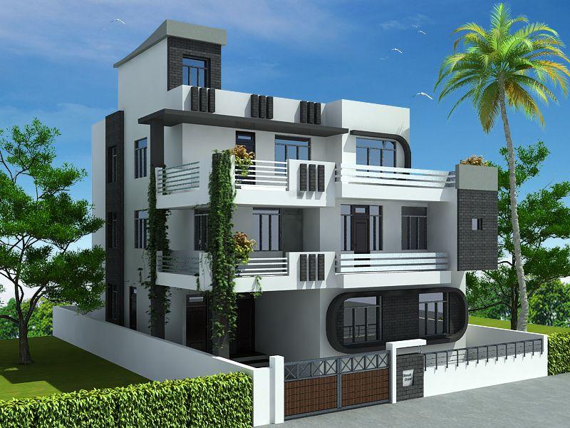 3d Exterior Design Services 3d Home Design Elevation Home Design Small House Elevation Design Modern Small House Design House Front Design