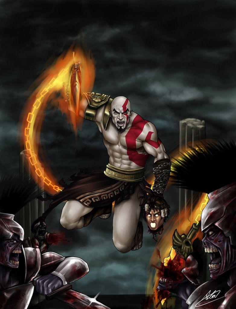 Pin On Kratos God Of War