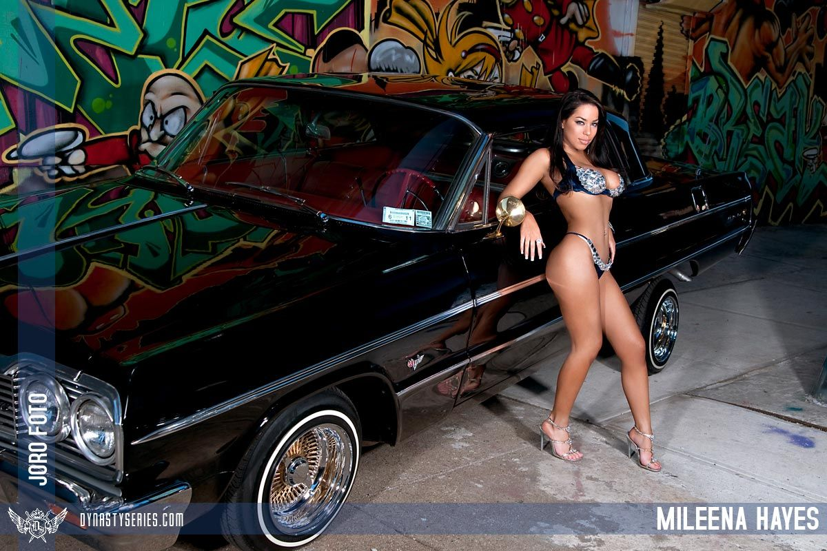 Consider, that lowrider girl mileena hayes