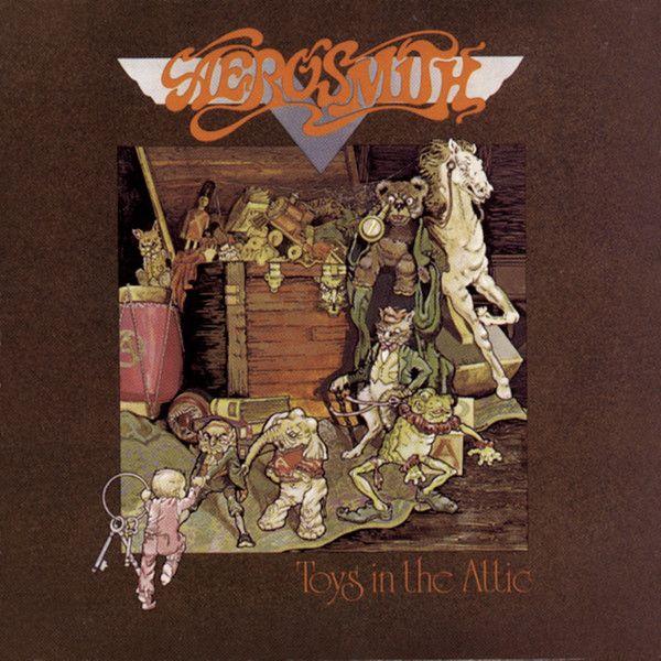 Aerosmith Toys In The Attic Classic Rock Albums Toys In The Attic Aerosmith