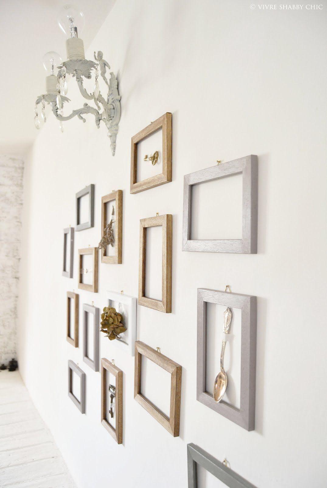 Decorare una parete con le cornici. Cornici, Decorazioni