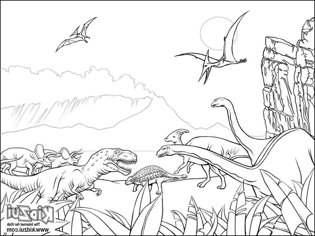 Coloriages De Dinosaures Et Dessins D Animaux Prehistoriques Coloriage Dinosaure Coloriage Coloriage Jurassic Park