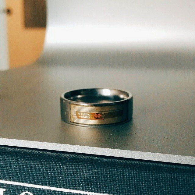NFC Wireless Data Transfer Ring | Gears n Gadgets | Rings, Ring