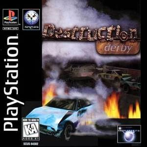 Complete Destruction Derby Ps1 Game With Images Video Game