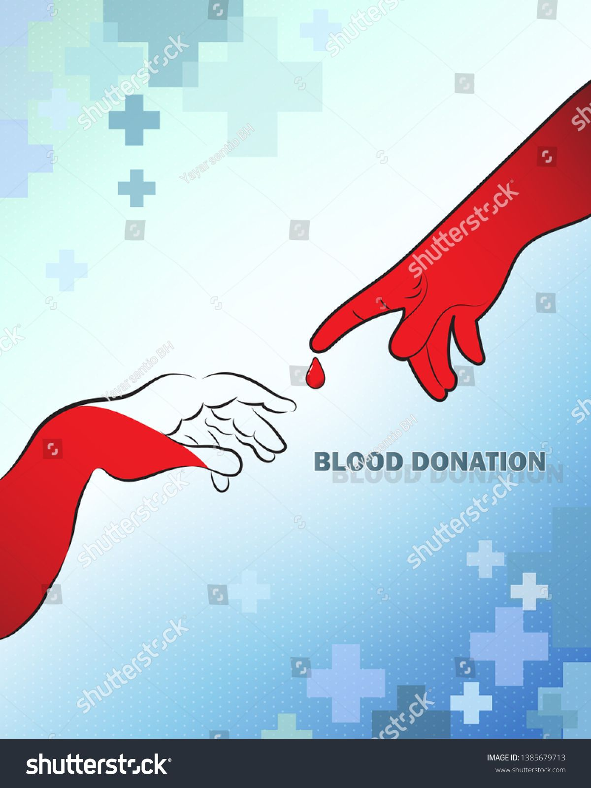 Blood donation design creative donor poster blood donor