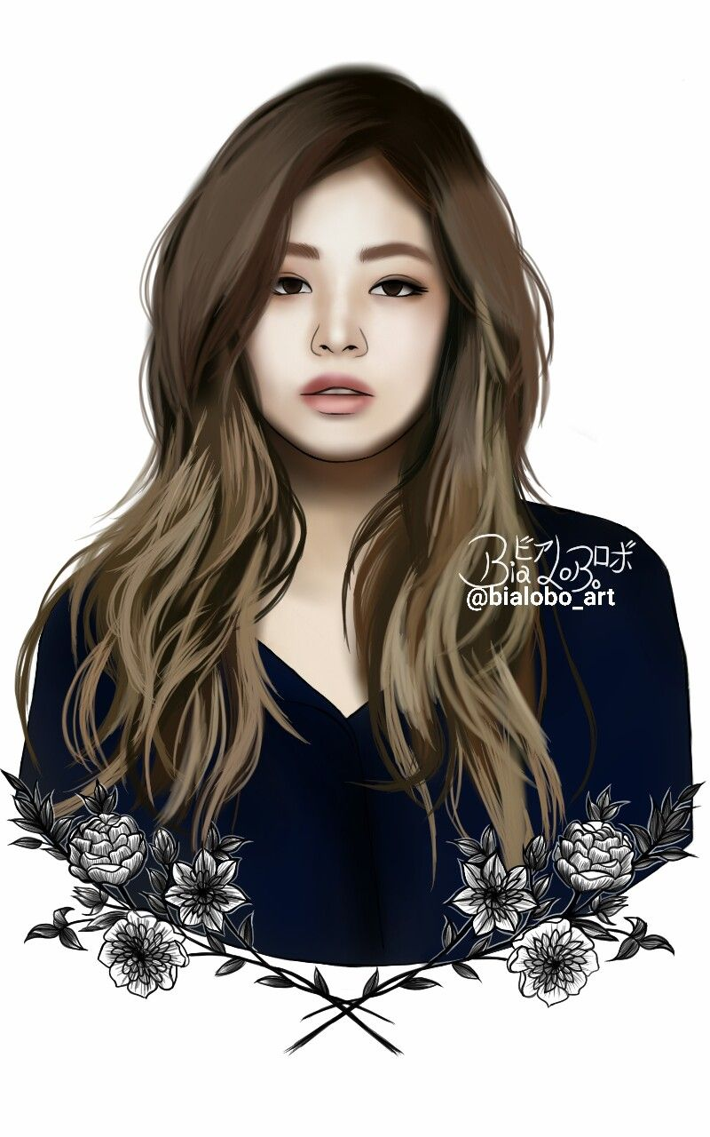 Arte Junior Replay Jennie Blackpink Fanart Fanart Blackpink Fan Art E Kpop