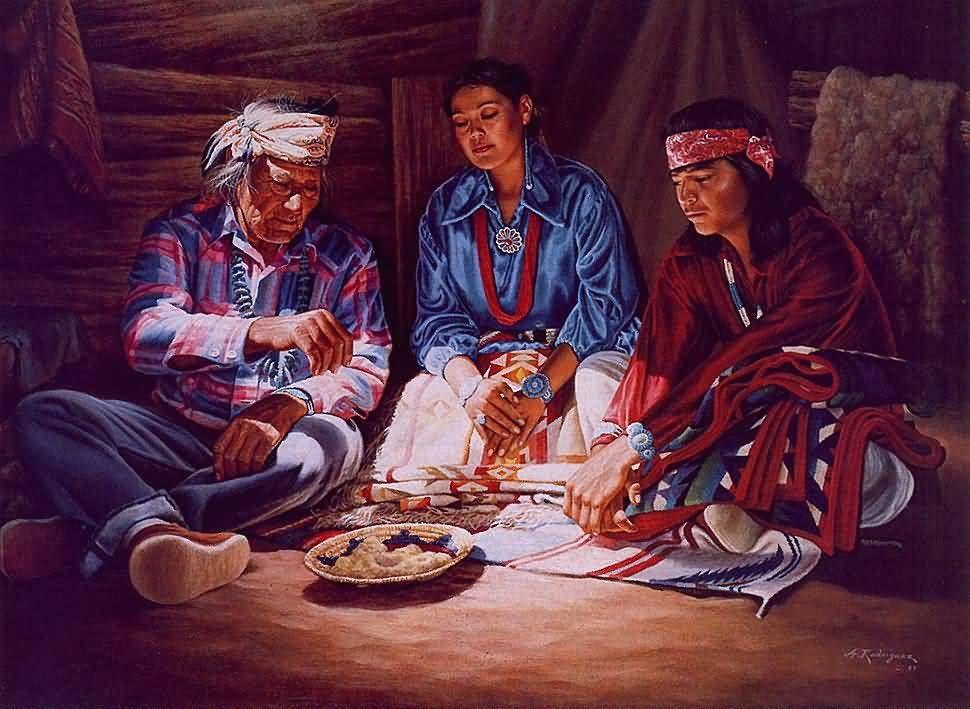 Alfredo Rodríguez: Una boda de Navajo. | Nativos Americanos ...