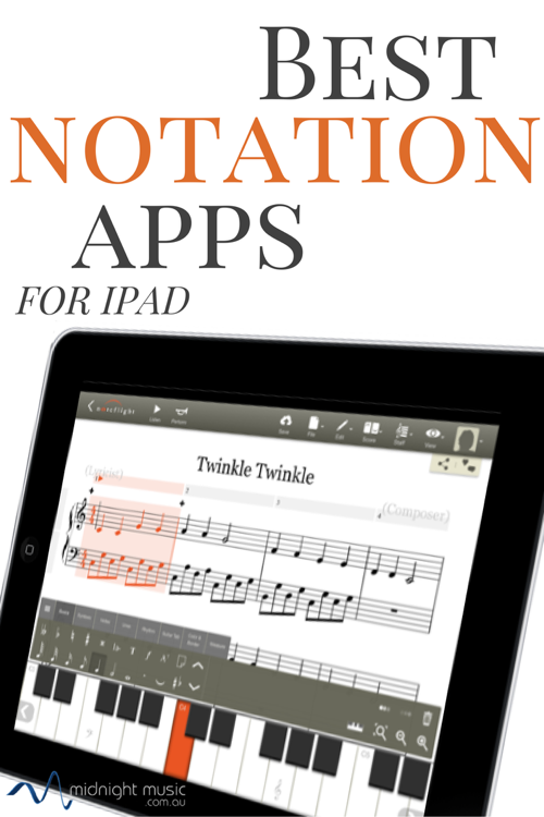 Best Music Notation Apps for iPad Music classroom ideas