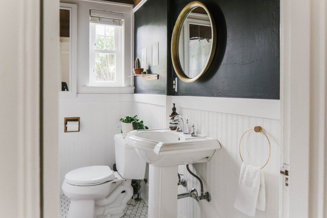 Dream Bathroom Interiors. Photo by Maria Lamb. Staging by Eclectic ...