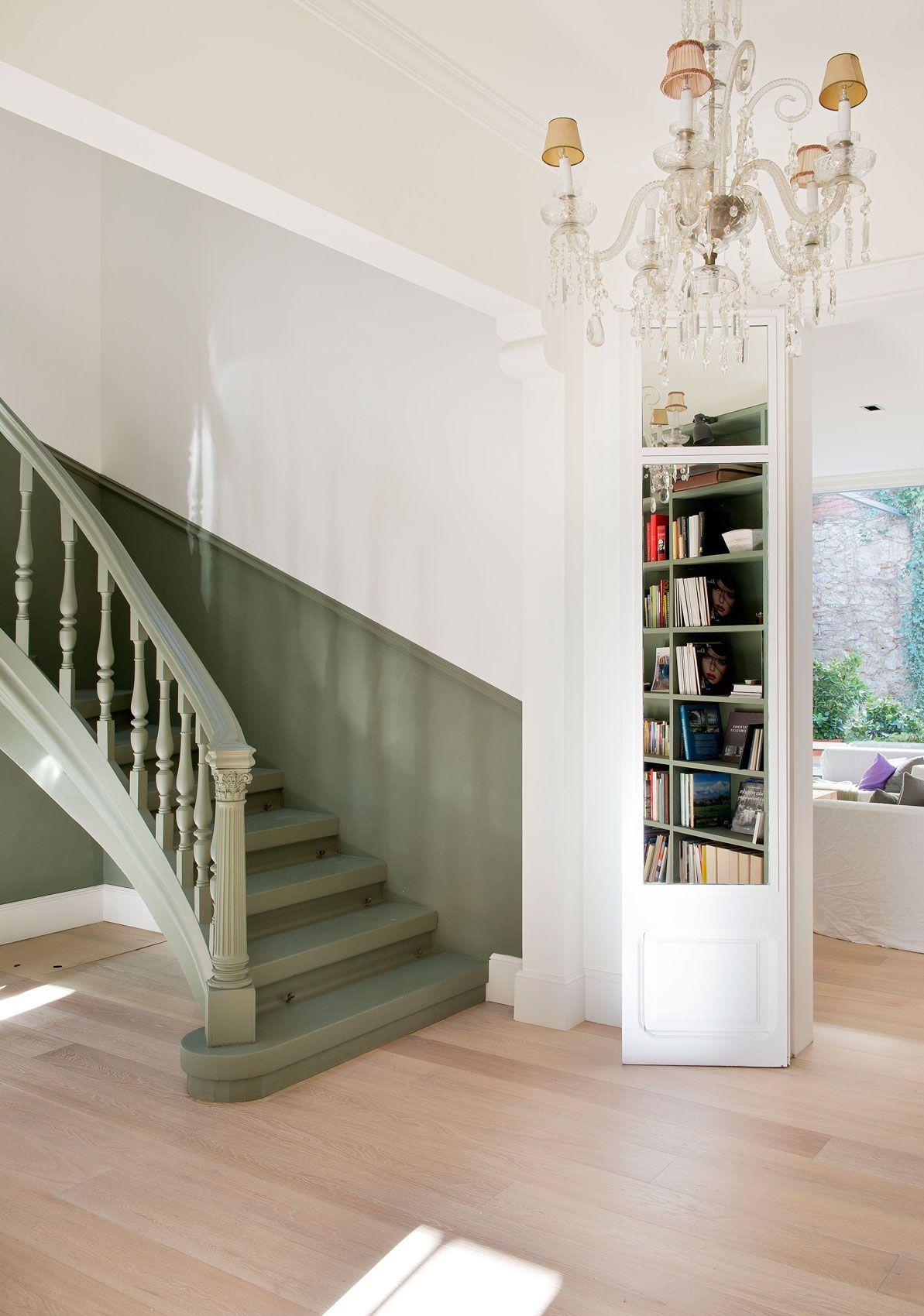 Salvar La Escalera Escaleras Pintadas Escaleras De Madera Pintada Tendencias En Decoracion