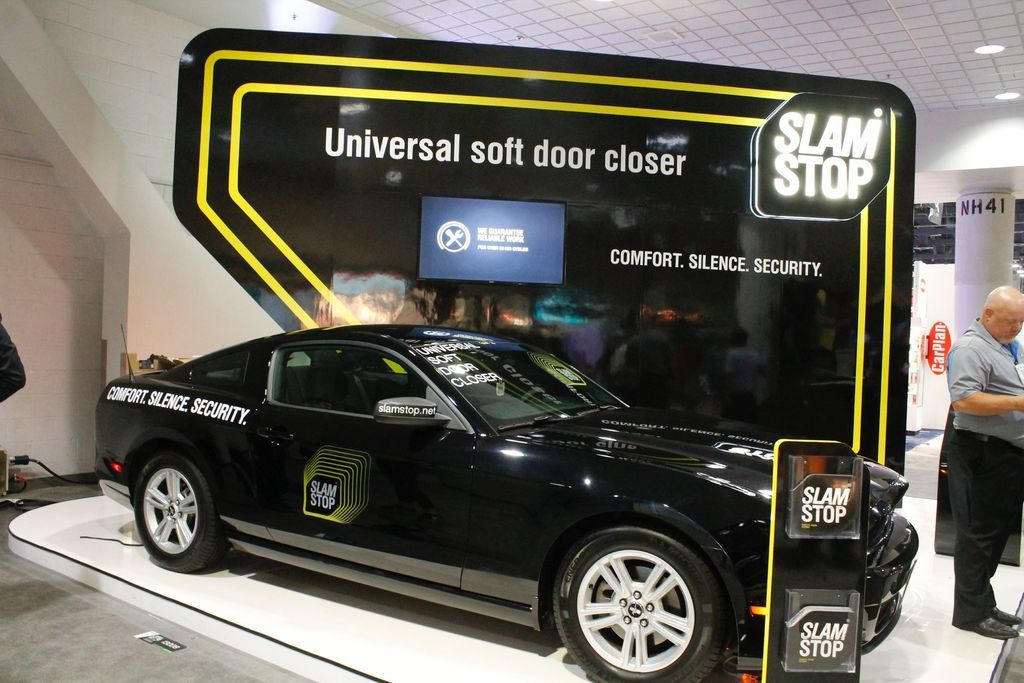 Slamstop Is A Soft Closer Device It Mechanically Catches A Slightly Closed Door Elegantly And Pulls It To The Completely Closed Position Th Car Car Door Soft