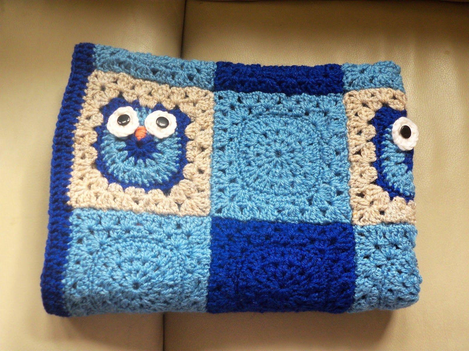 Free+Crochet+Owl+Blanket+Patterns | The Suburban Daffodil | crochet ...