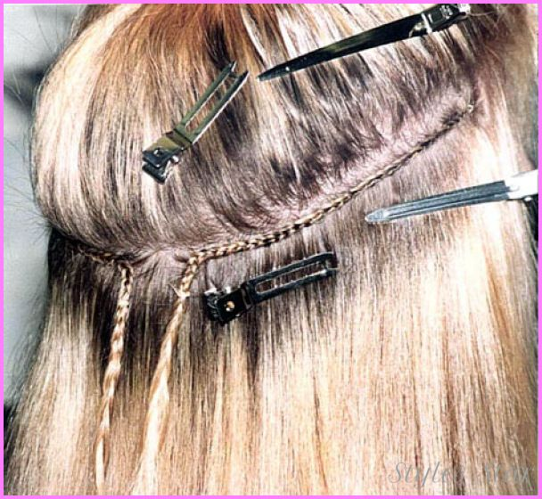 Cool Sew Hair Extensions Cost Stars Style Pinterest Hair