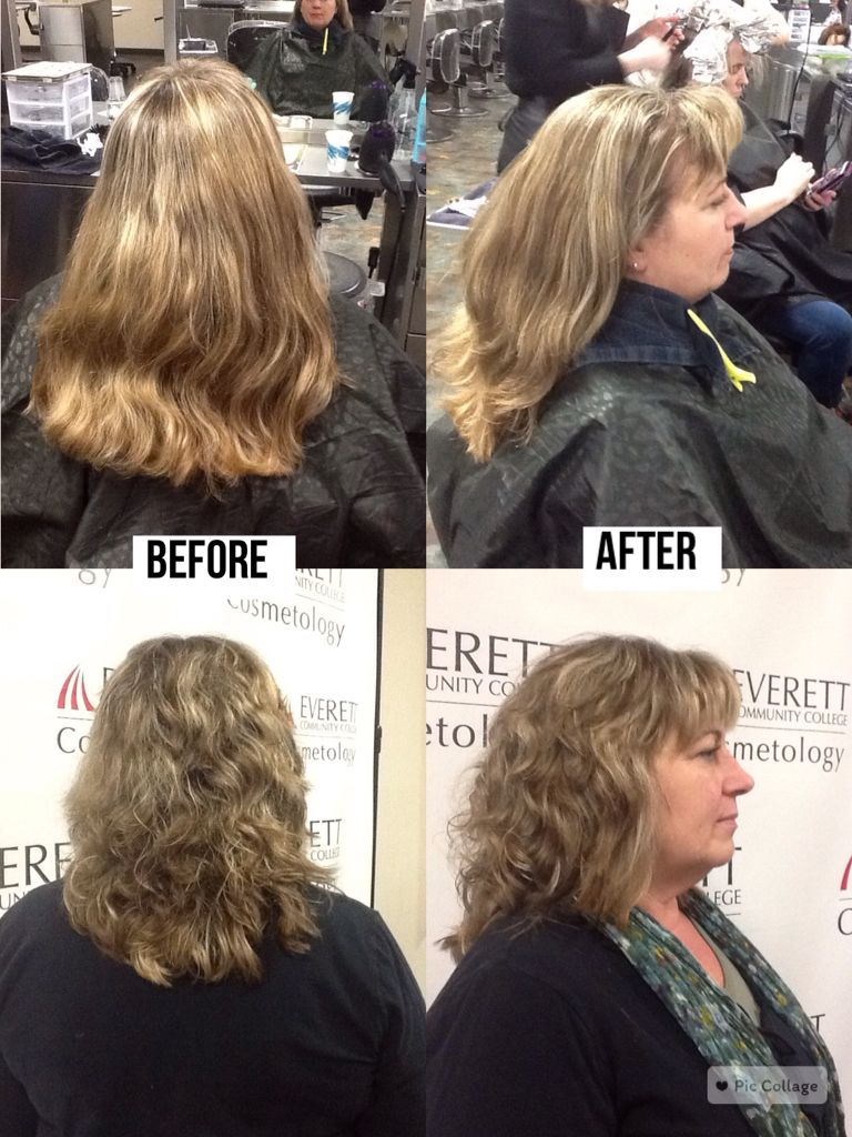 Dramatic Haircut To Recreate A Style She Had Over 15 Years Ago With