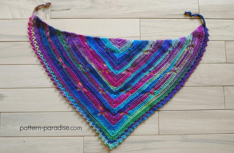 Free Crochet Pattern: Dragonfly Bandana Cowl   Ganxet   Pinterest ...