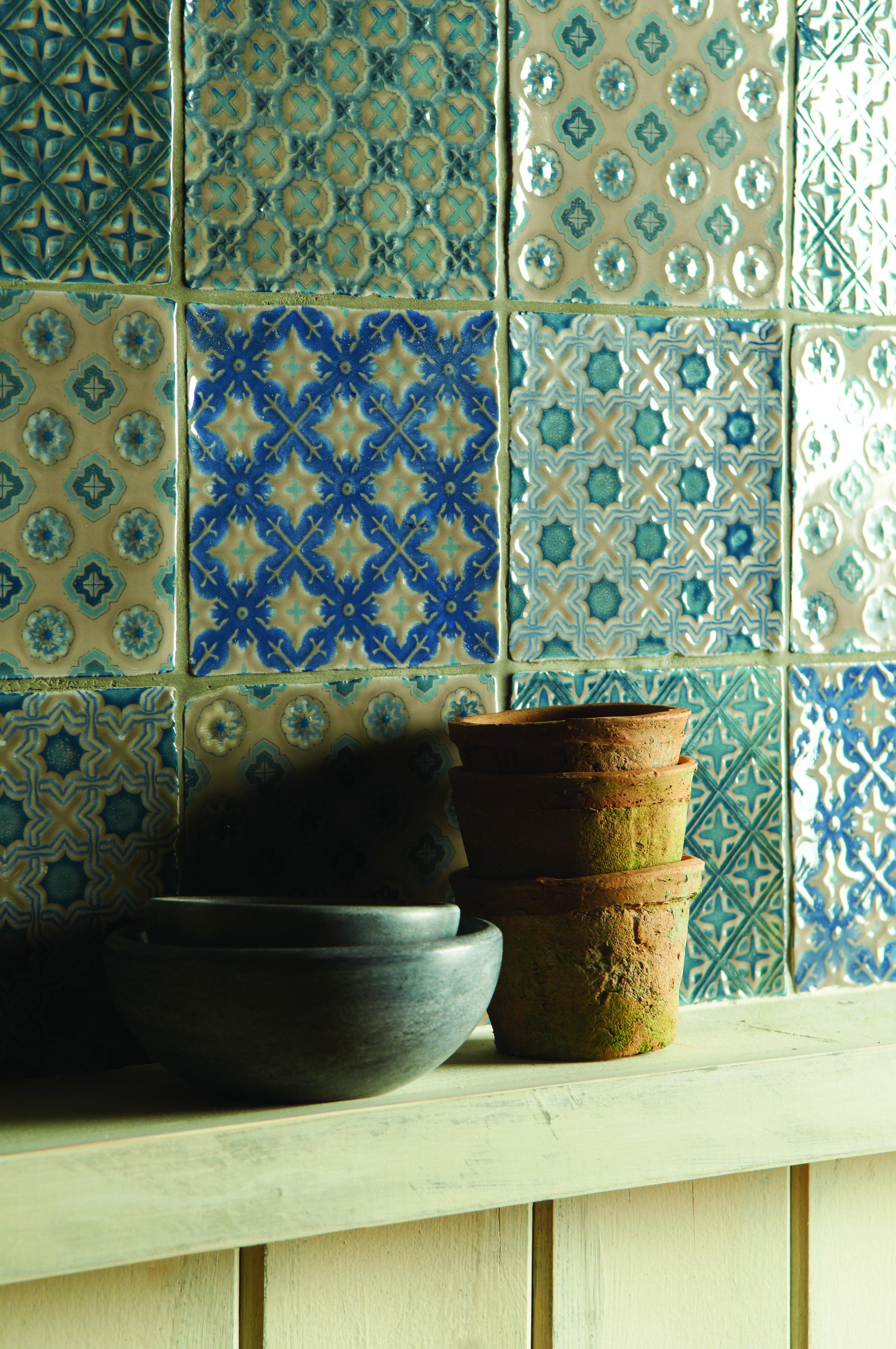 Wandtegels op Pinterest - Cement Tegels, Tegels In De Badkamers en ...