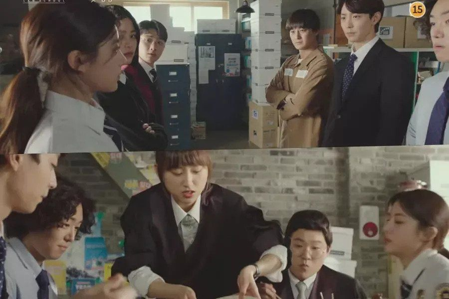 "Watch: Kim Bum, David Lee, And More Have Heated Argument Over Something Trivial In ""Law School"" Teaser"