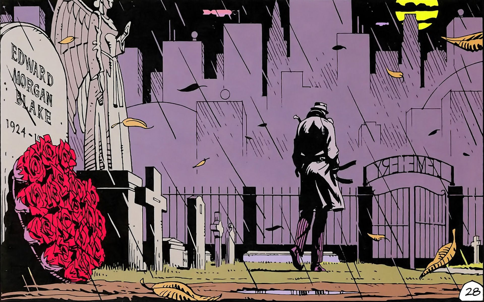 Wallpapers Rorschach Watchmen Rorschach Watchmen