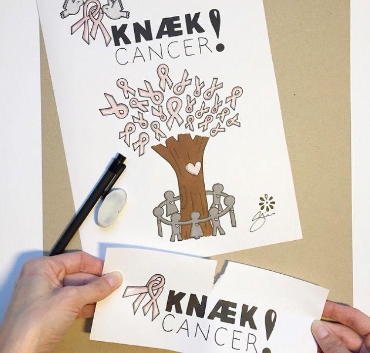 Simone Eriksen sælger de fineste tegninger på tykt pap og støtter på den måde Knæk Cancer. Du kan få mere info om, hvordan du køber dem på hendes profil @simonethoruperiksen <3 #knækcancer