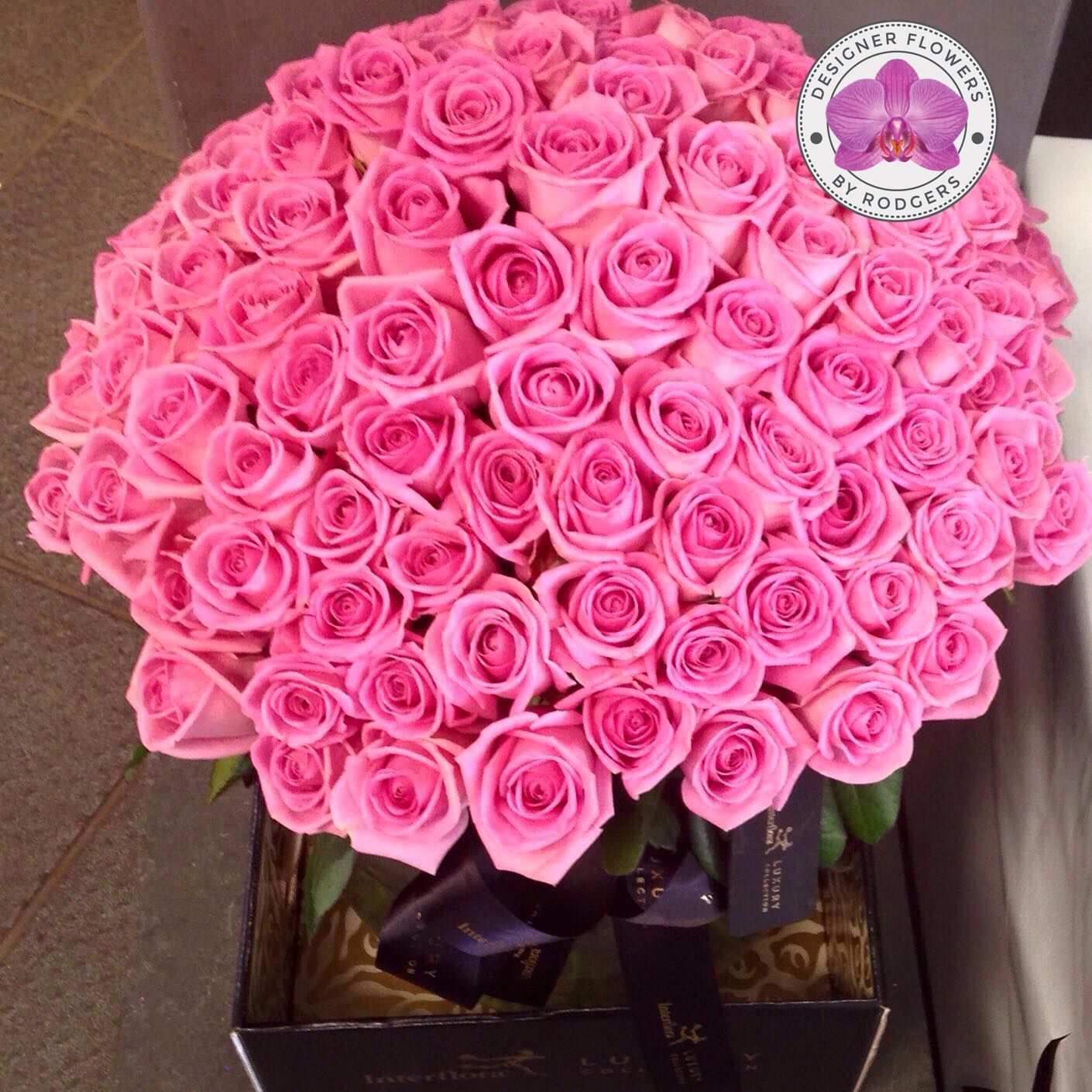 Birthday Surprise 💝 100 x Aqua Roses Designer Flowers by