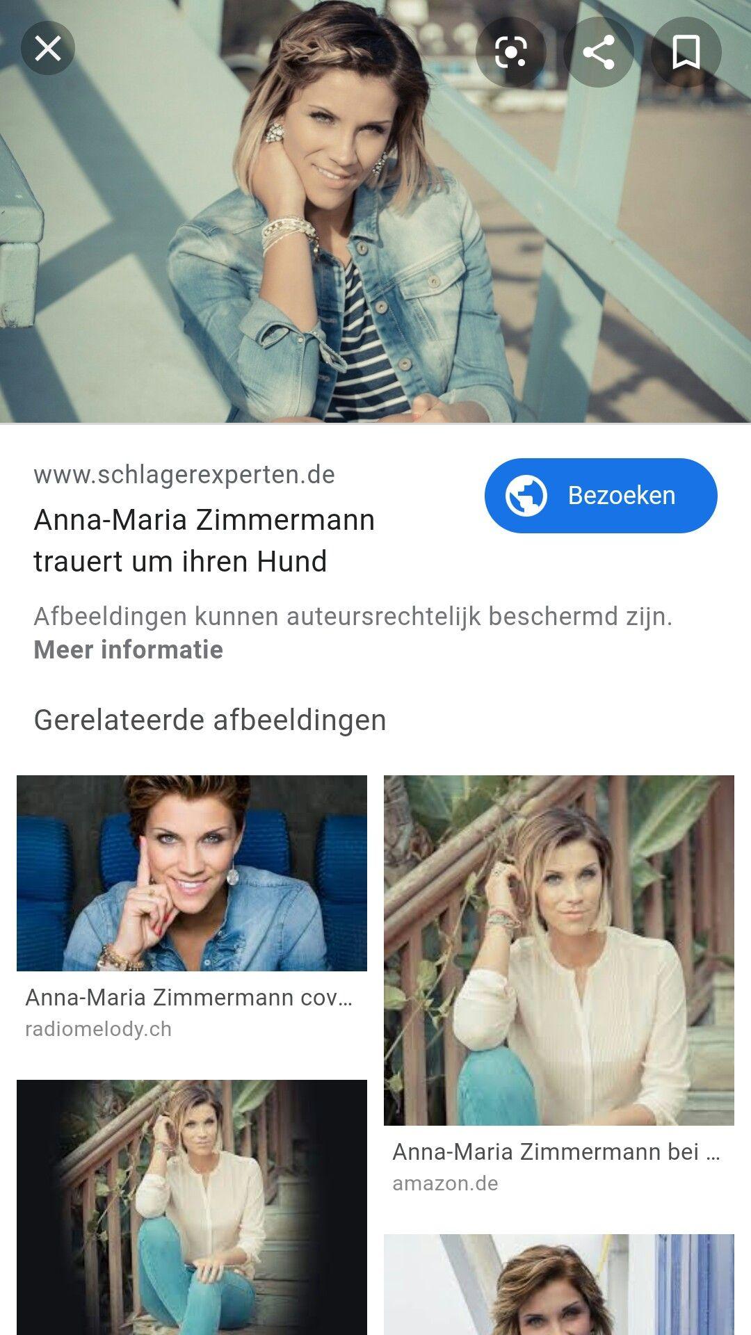 Anna-Maria nackt Zimmermann Anna Maria