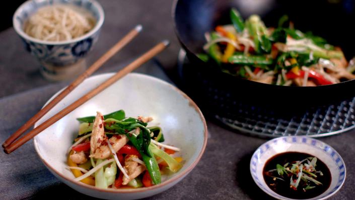 Chicken Stir Fry Recipe Recipes Recipes Food Network Recipes